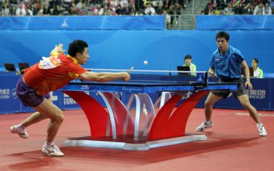 Experience The Magic Of Having Ping Pong Competition Match In The Thea