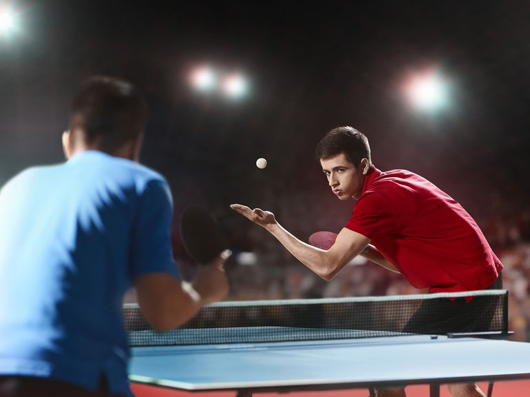 Playing Pingpong To Keep Theater Actors Physically Fit